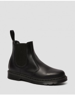 2976 MONO SMOOTH LEATHER CHELSEA BOOTS - BLACK SMOOTH