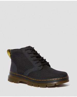 BONNY POLY CASUAL BOOTS - BLACK EXTRA TOUGH POLY+RUBBERY