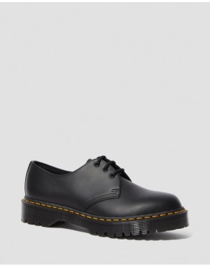 1461 BEX SMOOTH LEATHER OXFORD SHOES - BLACK SMOOTH