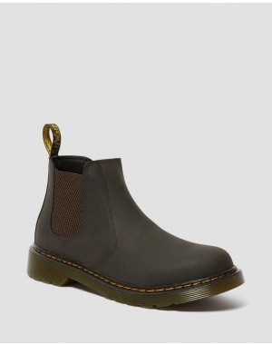 YOUTH 2976 WILDHORSE LEATHER CHELSEA BOOTS - GAUCHO WILDHORSE LAMPER