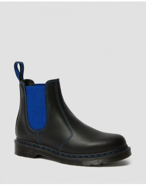 2976 POP NAPPA LEATHER CHELSEA BOOTS - BLACK NAPPA