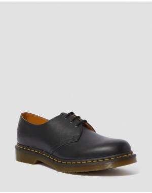 1461 NAPPA LEATHER OXFORD SHOES - BLACK NAPPA