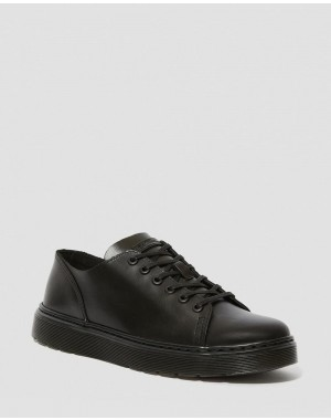 DANTE BRANDO LEATHER CASUAL SHOES - BLACK BRANDO