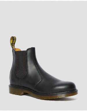 2976 SMOOTH LEATHER CHELSEA BOOTS - BLACK SMOOTH