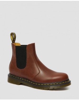 2976 CLASSICO LEATHER CHELSEA BOOTS - BROWN CLASSICO