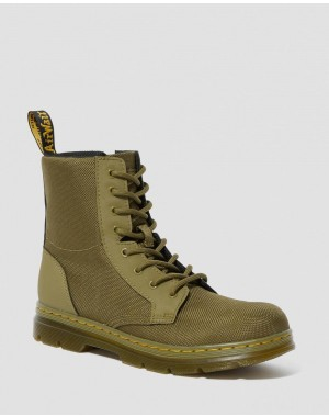 YOUTH COMBS EXTRA TOUGH POLY CASUAL BOOTS - DMS OLIVE EXTRA TOUGH POLY+RUBBERY