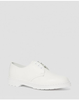 1461 MONO SMOOTH LEATHER OXFORD SHOES - WHITE SMOOTH