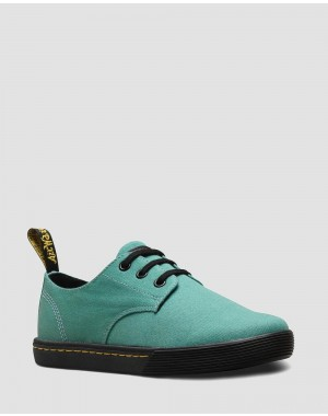 SANTANITA WOMEN'S CANVAS CASUAL SHOES - PALE TEAL CANVAS