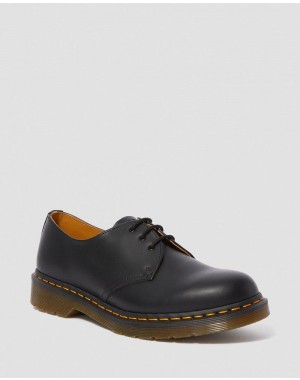 1461 SMOOTH LEATHER OXFORD SHOES - BLACK SMOOTH