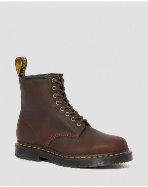1460 DM'S WINTERGRIP LACE UP BOOTS - COCOA SNOWPLOW