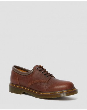 8053 HARVEST LEATHER CASUAL SHOES - TAN HARVEST