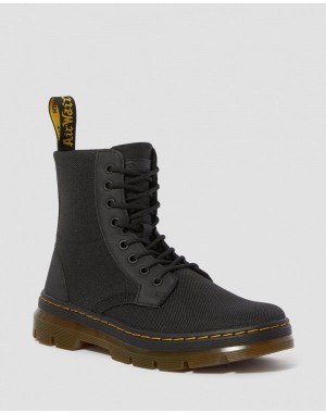 COMBS POLY CASUAL BOOTS - BLACK EXTRA TOUGH POLY+RUBBERY