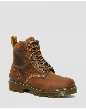CROFTON LIGHTWEIGHT WORK BOOTS - TAN GREENLAND