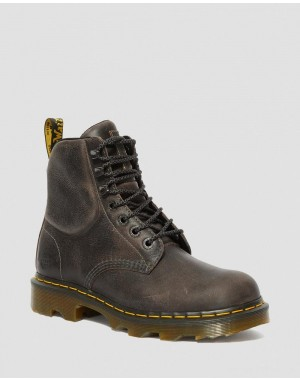 CROFTON LIGHTWEIGHT WORK BOOTS - BLACK GREENLAND