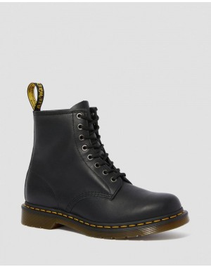 1460 NAPPA LEATHER LACE UP BOOTS - BLACK NAPPA