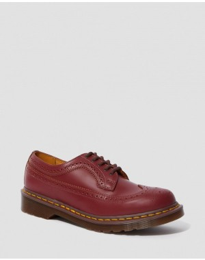 3989 VINTAGE MADE IN ENGLAND BROGUE SHOES - OXBLOOD QUILON