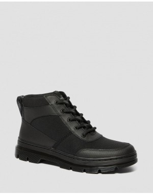 BONNY TECH POLY CASUAL BOOTS - BLACK ELEMENT-POLY RIP STOP