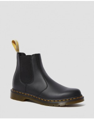 VEGAN 2976 FELIX CHELSEA BOOTS - BLACK FELIX RUB OFF