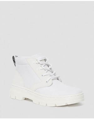 BONNY WOMEN'S POLY CASUAL BOOTS - WHITE EXTRA TOUGH POLY+AJAX