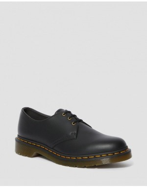 VEGAN 1461 FELIX OXFORD SHOES - BLACK FELIX RUB OFF