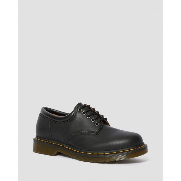 8053 NAPPA LEATHER CASUAL SHOES - BLACK NAPPA
