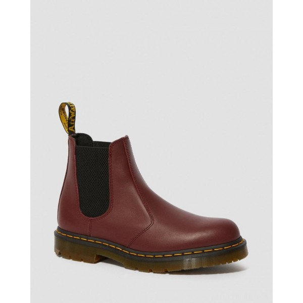 2976 SLIP RESISTANT LEATHER CHELSEA BOOTS - CHERRY RED INDUSTRIAL FULL GRAIN