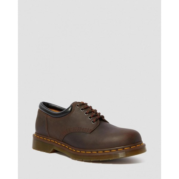 8053 CRAZY HORSE LEATHER CASUAL SHOES - GAUCHO CRAZY HORSE