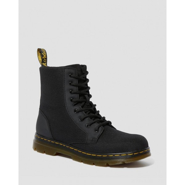 YOUTH COMBS EXTRA TOUGH POLY CASUAL BOOTS - BLACK EXTRA TOUGH POLY+RUBBERY