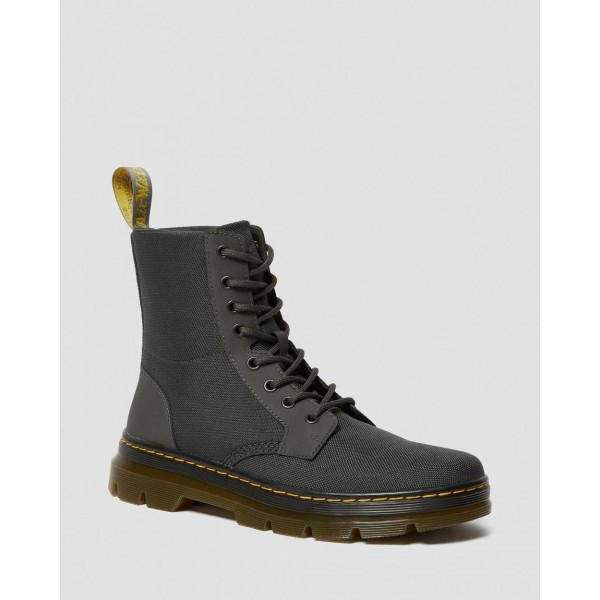 COMBS POLY CASUAL BOOTS - CHARCOAL EXTRA TOUGH POLY+RUBBERY