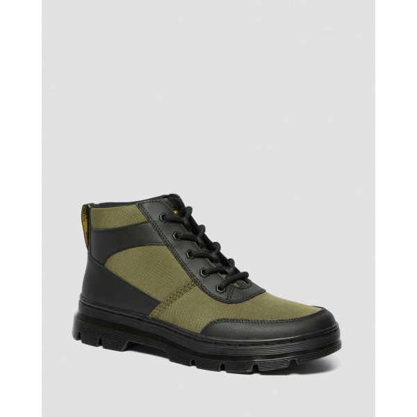 BONNY TECH POLY CASUAL BOOTS - BLACK-DMS OLIVE ELEMENT-POLY RIP STOP